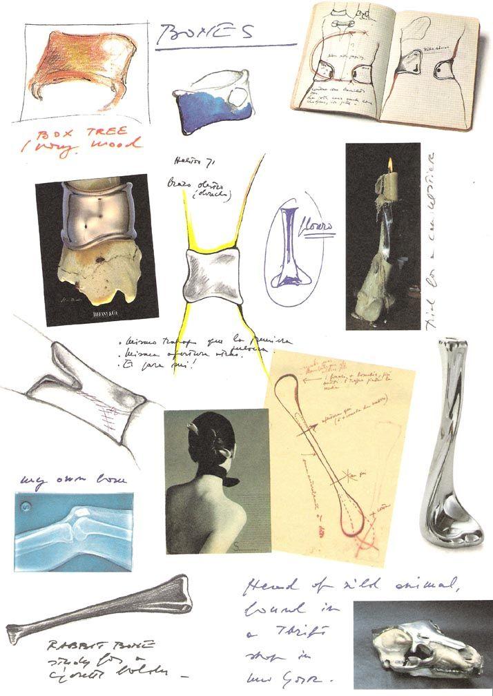 elsa peretti, secretcape blog, designers, jewellery design, designer sketches