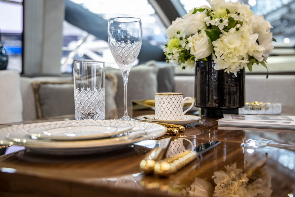 yacht interior, boot 2020, dusseldorf boat show, interior design, yacht dressing